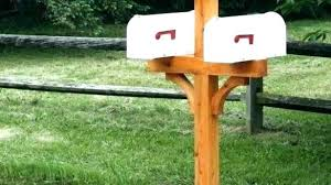 double mailbox post. Related Post Double Mailbox