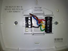 honeywell heat pump thermostat wiring diagram lorestan info Electric Heat Pump Wiring Diagram honeywell heat pump thermostat wiring diagram