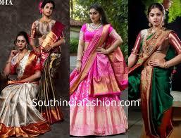 Latest Design Kanjivaram Sarees Latest Kanchipuram Collection By Mugdha Art Studio India