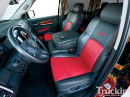 leather seat covers dodge ram image