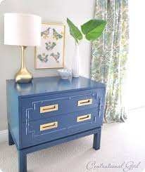 peacock blue furniture. peacock blue painted faux bamboo chest furniture