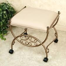 adjule vanity stools with wheels bathroom incredible