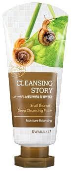 Kwailnara <b>пенка для умывания Cleansing</b> Story Snail Essential ...