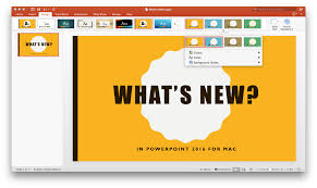 Microsoft Office Ppt Theme Whats New In Powerpoint 2016 For Mac Microsoft 365 Blog
