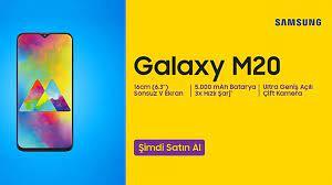 Konforlu kullanımı ile Samsung Galaxy M20
