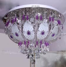 led flush light square glass pendant contemporary fixtures ceiling uplighter multi coloured chandelier modern lamp drop