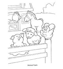Farm Animal Coloring Sheets Free Printable Coloring Pages Farm