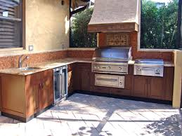 Complete Outdoor Kitchen Stainless Steel Outdoor Kitchen Cabinets Superb Cal Flame Complete