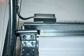 garage door alarm sensor overhead opener system