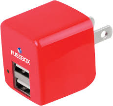 fusebox usb dual port wall charger assorted refill pack home > fusebox usb dual port wall charger