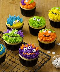 Scary Monster Cupcakes Recipe Walmartcom