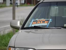 For Sale Sign On Car How To Get The Most Money When Selling Your Car A Girls Guide To Cars