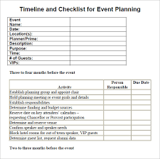 Party Planner Checklist Template Party Planner Templates Rome Fontanacountryinn Com