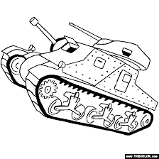Small Picture M3 Lee Grant Tank Online Coloring Page