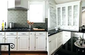 backsplash with white countertops white cabinet black that coordinate with white cabinets and black granite how