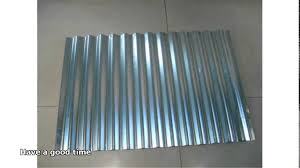 galvanized corrugated metal roofing 46 with galvanized corrugated metal roofing