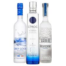 the ultimate vodka tasting set ciroc grey goose belvedere 3x20cl