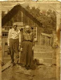"""Photo: Emsley S. Jeffers and Mary """"Polly"""" (DUNCAN) Jeffers. 