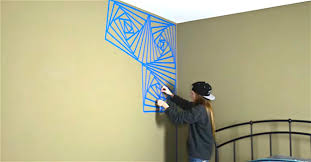 Tape Ideas Beautiful Easy Wall Painting Paint