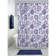 interdesign shower curtain fl purple fabric shower curtain interdesign cameo constant tension shower curtain rod