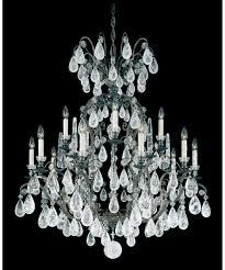 modern crystal chandelier floor lamp black schonbek replacement