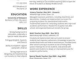Resume Format For Teacher Job Microsoft Office Graph Paper