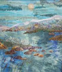 229 best ocean images on Pinterest | Landscapes, Painting and ... & Latest Works of Olena Nebuchadnezzar, Olena ArtQuilting. Fabric ArtQuilting  FabricLandscape ... Adamdwight.com