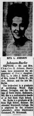 ENGAGEMENT: Rita Johnson; APP, 12 Aug 1966; Pg. 10, Col. 6 - Newspapers.com