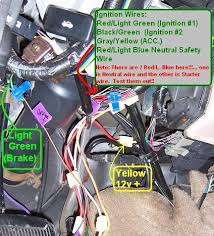 diy how to install a remote start alarm keyless entry system on a tach wire and firewall passage at the front left of the firewall behind the e brake pedal