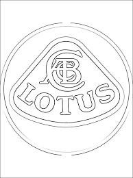 Logo Lotus Kleurplaten Gratis Kleurplaten