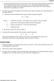 Water Potential Equation Osmosis Evaluation Copy Pdf