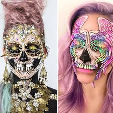 this makeup artist s viral skull makeup is ing up on insram