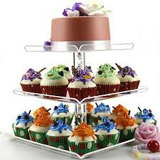 How To Display Cupcakes Without A Stand Custom 32 Tiers Large Acrylic Cupcake Stands Serving Tray With Borders