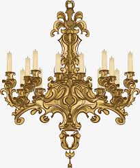 european chandelier vector european chandelier european style white candle png and vector