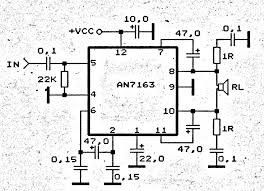 5 1 surround amplifier circuit schematic electronic circuit 5 1 surround amplifier circuit schematic
