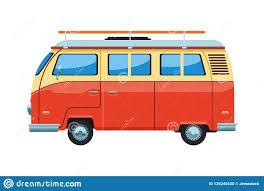 Camper Van Graphics Design Camper Van Icon Stock Vector Illustration Of Tourism