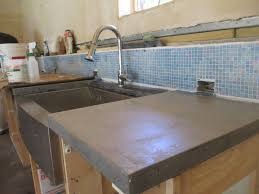 how to make poured concrete countertop into place iscareyou in creative poured concrete countertops cost