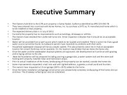 executive summary format for project report project management summary template