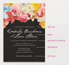 wedding invitation wording creative and traditional a practical Formal Wedding Invitation Wording Date wedding invitation wording graphic with flowers formal wedding invitation wording samples
