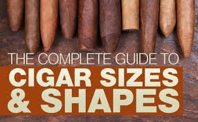 Cigar Chart Poster The Complete Guide To Cigar Sizes And Shapes