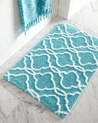 aqua blue and white rug striped area tangiers bath rugs explore teal more black round navy carpet washable throw cool ivory marvelous