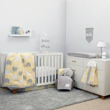 full size of grey white bedding cot baby sets gray nursery crib set and scenic elephant