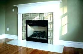 white marble fireplace tile in wall shelves