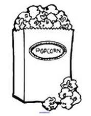 Small Picture Popcorn theme activities and printables for Preschool and