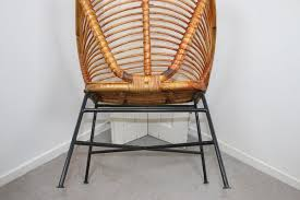 bamboo or rattan patio chair by dirk