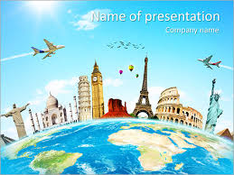 powerpoint them travel powerpoint templates backgrounds google slides themes
