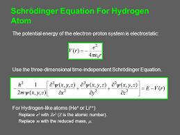 2 schrödinger equation