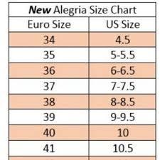 Alegria Size Chart Alegria Womens Pal 574 Mary Janes Eu 41 Us 10 5