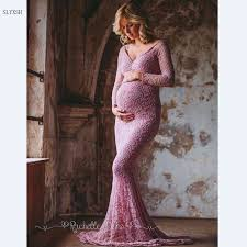 new maternity photography props dresses voile maxi sleeveless pregnant women dress pregnancy