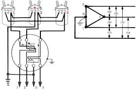v open delta page  the high leg leg 3 has its own stator a 208 volt voltage coil and one current coil for the high leg